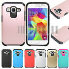 Hybrid Shockproof Armor Case Hard Cover Fr Samsung Galaxy Core Prime Prevail LTE