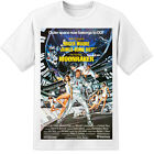 James Bond Moonraker Movie Poster T Shirt (S-3XL) Retro 007 Roger Moore £11.99 GBP