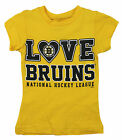 NHL Hockey Toddler Girls Boston Bruins Love Shirt - Yellow