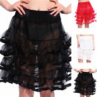 "1950s 22"" 24"" Gothic Rockabilly Petticoat Pettiskirt Tutu Underskirt Fancy Dress"