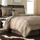 JCPenney Studio TEXTURED SQUARES 4 Piece Comforter Set Retail up to $170