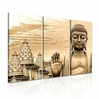 Buddha Canvas Religion Modern Home Office Wall Art 3pc