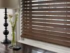 "JCPenney Linden Street 2"" Distressed Wood Blinds 64""L up to 48""W Assorted Finish"