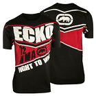 Ecko MMA Fight To Win T-Shirt (Black/Red)