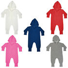 Unisex Infant Babybugz Hooded Zip Up Pocket All In One Size 6/12 Mths-2/3 Yrs