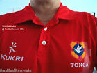 """38"""" - 48"""" CHEST ( S L XL XXL 3XL ) TONGA KUKRI RUGBY POLO SHIRT jersey Official"""