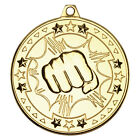 Martial Arts Sports Medal Stars Achievement Award With Ribbon M74JREW