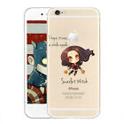 Hero Pattern TPU Soft Ultra Thin Slim Clear Case Cover Fits For iPhone 5/5S/5C/6