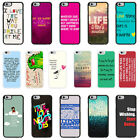 Sayings Quotes Case Cover for Apple iPhone 4 4s 5 5s 6 6 Plus - 36
