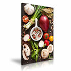 FOOD & DRINK Spice Pepper Canvas Framed Printed Wall Art 28 ~ More Size