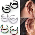 MEN'S WOMEN'S GLAMOUROUS CLIP-ON EARRINGS CARTILAGE PUNK CUFF EARDROP EAR CLIP