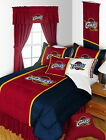 Cleveland Cavaliers Comforter Sham & Bedskirt Twin to King Size