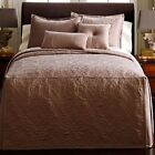 JCP by Royal Velvet MONUMENT FULL BEDSPREAD Quilt Stitch Box Pleat Matte Satin