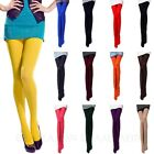 Womens Hosiery Fashion Stockings Lycra Stretchy Colorful Thick Pantyhose 80D