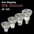 New Hot 1/6/10x 9w Durable LED Energy Saving Spot Light Bulbs Lamp 110V/220V/12V