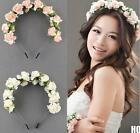 HO AU Vogue Flower Boho Floral Headband Garland Festival Wedding Bridal Hairband