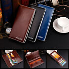 Men Luxury Bifold Business Leather Wallet Card Holder Coin Wallet Purse GFY