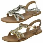 Ladies Leather collection sandals F0899
