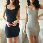Women Sexy BodyCon Evening Party Package Hip Condole Belt Vest Dress GFY