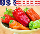 30+ ORGANICALLY GROWN Cubanelle Sweet Pepper Seeds Heirloom NON-GMO Rich Flavor