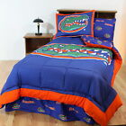 Florida Gators Comforter Sham and Sheet Set Twin Full Queen King Size Reversible