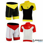 Deckra Mens Cycling Jersey Half Sleeves Cycling Short Quality Bike Jersey Short