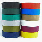 Polypropylene Strap Webbing 20mm & 25mm -  2m, 5m or 10m - Choice of Colours