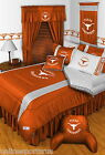 Texas Longhorns Bed in a Bag Curtains Valance Twin Full Queen King Size