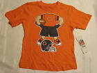 NFL Team Apparel Chicago Bears 12 18 24 Month or 4T Choice Shirt Short Sleeve