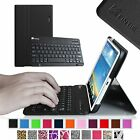 Slim Flip Leather Case Cover Detachable Bluetooth Keyboard for LG G Pad Tablet