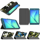 Ultra Slim Filp Camouflage Stand Case Smart Wake Cover for Samsung Galaxy Tab