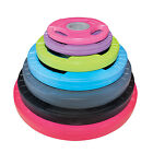 Physical Company 30mm Rubber Discs Weights with Handles Gym