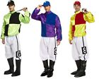 "MENS FANCY DRESS JOCKEY 3 COLOURS DERBY GRAND NATIONAL HORSE FITS TO 44"" CHEST"