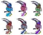 Lucky Birds Eagle Fashion Women Jewelry Full Rhinestone Crystal Brooch Pin Gift