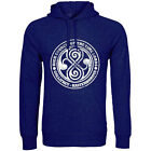 Doctor Who High Council Of The Time Lords Blue Hoodie