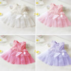 Newborn Baby Girls Tutu Dress Infant Toddler Skirt  Children Clothes Party 0-12M