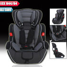 Black Convertible Baby Kid Children Car Seat Booster Seat Group 1 2 3 9-36 kg