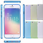 TPU SOFT CRYSTAL CLEAR GEL BACK CASE COVER FOR iPHONE 6/6 PLUS+SCREEN PROTECTOR