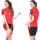 Women's Sport Clothing Cycling Jersey Bike Bicycle Short Sleeve  Jersey &  Short