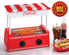 Coca-Cola Series Commercial Hot Dog Maker Electric Roller Bun Warmer Small Party