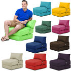 Bean Bag Fold Out Z Bed Garden Lounger Outdoor Water Resistant Futon Recliner