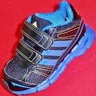 NEW Boy's Toddler's ADIDAS ADIFAST Black/Blue  Athletic Running Sneaker Shoes