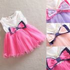 New Baby Girl summer bitheday party tutu dresses Pageant girl 3M-18M