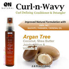 ON Natural Curl-N-Wavy Leave-In Conditioner & Detangler 2oz [Argan Tree]