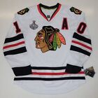 PATRICK SHARP CHICAGO BLACKHAWKS 2010 STANLEY CUP REEBOK EDGE AUTHENTIC JERSEY