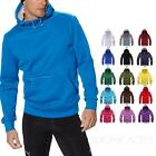 Winter Plain Hooded Sweater Ladies Hoodies Unisex Pullover Mens Jumper Size