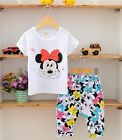 Minnie Mouse Shirt & Pants Set Outfit Costume Baby Girls Kids Princess, Mickey