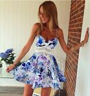 Fashion Women Casual Sleeveless Party Evening Cocktail Short Mini Beach Dress