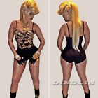 Sexy Women Clubwear Playsuit Trousers Bodycon Dress Party Jumpsuit Romper Shorts
