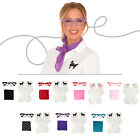1950s 3 pc Adult Accessory Set (Vintage Scarf-Poodle Socks-Cat Eye Glasses)